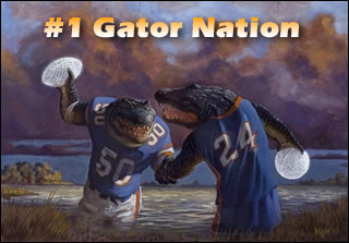 #1 Gator Nation